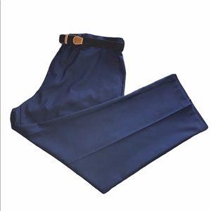 Haggar Cool 18 Pro Classic Fit Pants Blue 42x29
